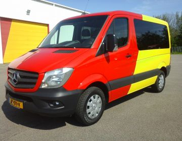 9-Persoons bus, Mercedes Sprinter Automaat
