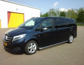 8-Persoons bus, Mercedes V Klasse XL 220 CDI Luxe uitvoering MPV